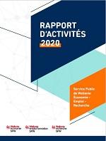 Page de garde Rapport Annuel 2020