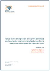 Page de garde document sur value chain